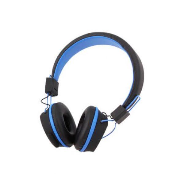 Blauwe kurio kindertelefoon