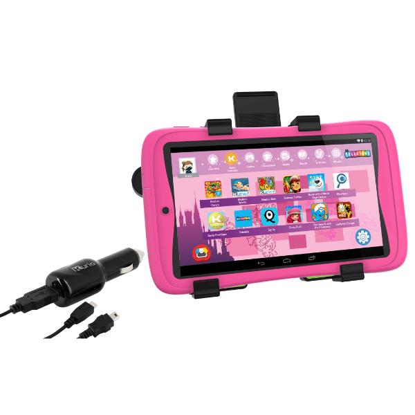 Kurio tablet car kit roze