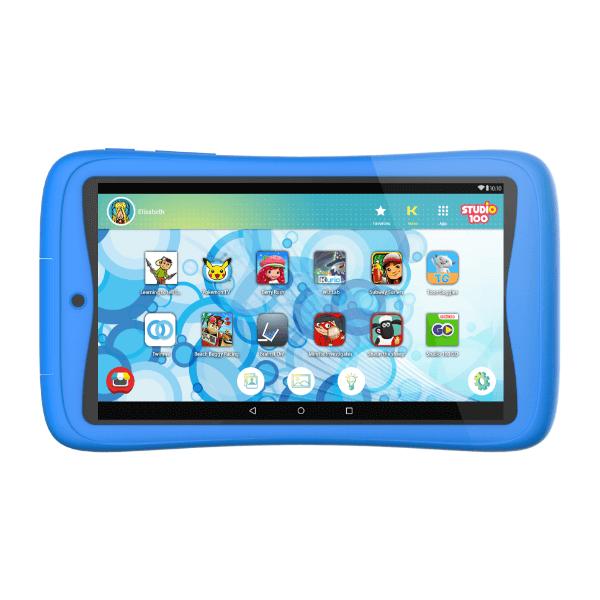 Vooraanzicht kurio connect tab blauw