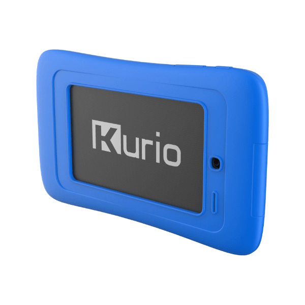 Achterkan Kurio tab connect blauw