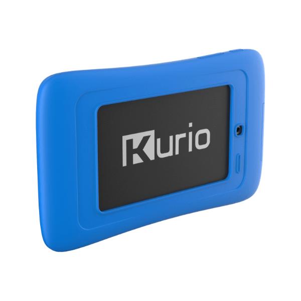 Kurio blauw connect tab achterkant