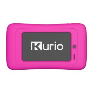 Achterkant kurio kinder tablet kleur roze