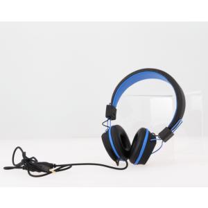 Hoofdtelefoon blauw