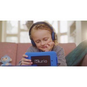 Muziek luisteren via de blauwe kurio tablet