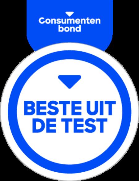 Consumenten bond label beste uit de test