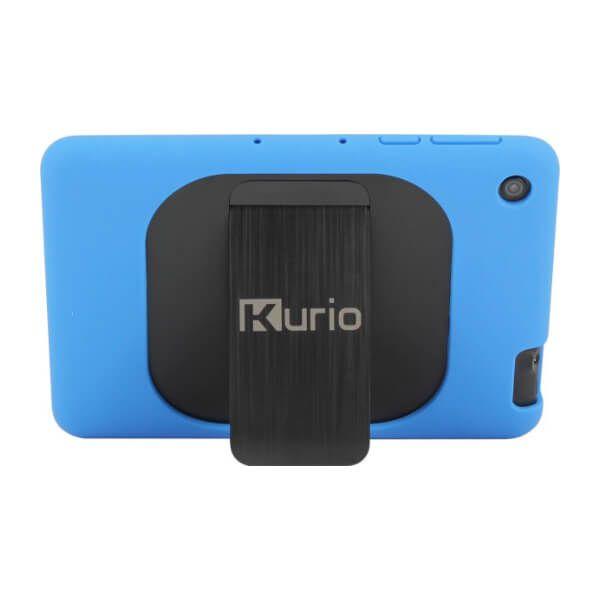Kurio tablet blauwe bumper achterkant