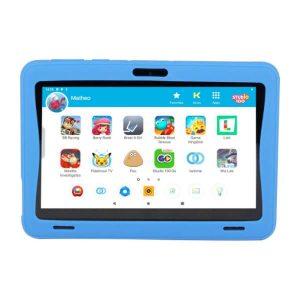 Voorkant blauwe kurio kinder tablet