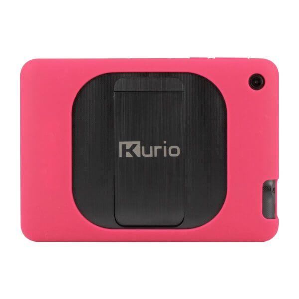 Kurio tablet roze achterkant
