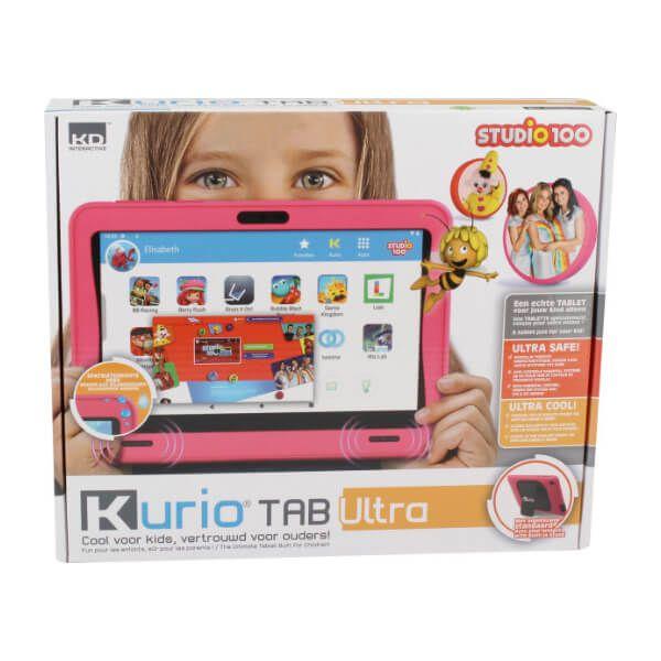 Verpakking Kurio tablet roze